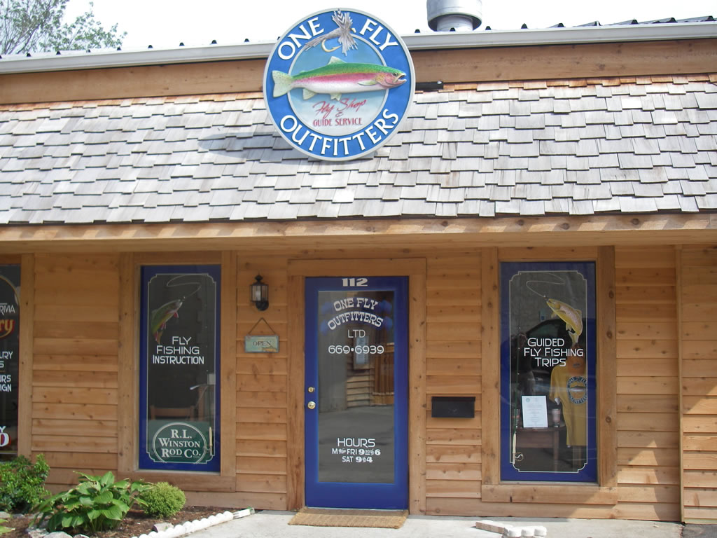 One Fly Outfitters - One of Western North Carolina's newest fly shops!